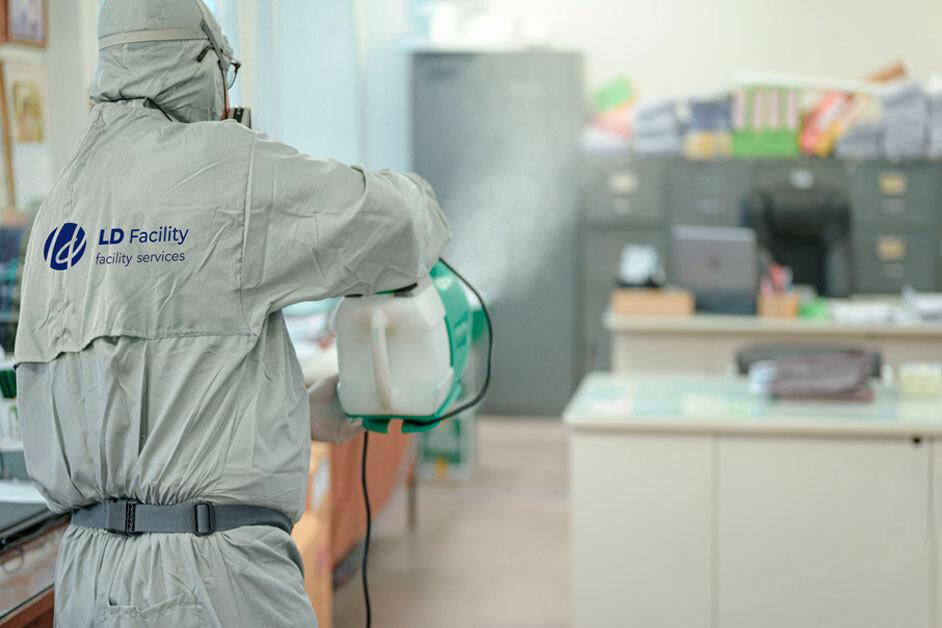 desinfeccion y limpieza covid 19