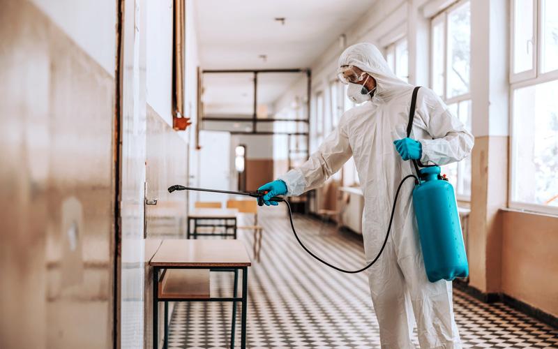 Desinfección centros educativos