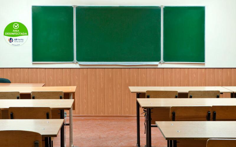 Desinfección aulas