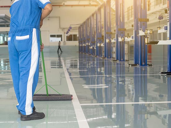 Empresa de limpieza sostenible