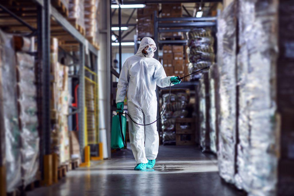 protocolo limpieza y desinfección industria alimentaria